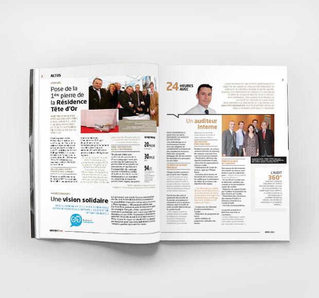 <span>Projet</span>Magazine Entre news